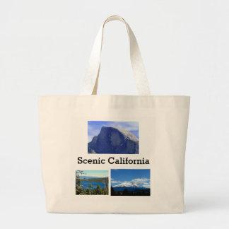 Landschaftliches Kalifornien Jumbo Stoffbeutel