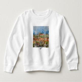 Landschaftliches Prag in der Tschechischen Sweatshirt