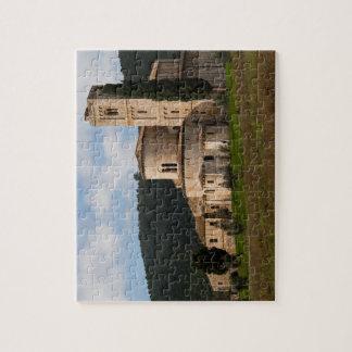 Landschafts-Landschaftshaus Toskana, Italien Puzzle