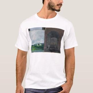 Landschafts- und Straßenszene T-Shirt
