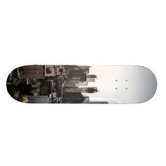 Landschaftsansicht von New York City 20,6 Cm Skateboard Deck