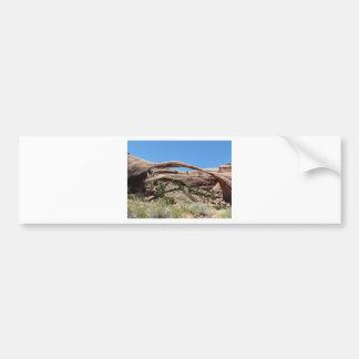 Landschaftsbogen Autoaufkleber