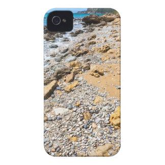 Landschaftsfelsige Küste Kefalonia Griechenland iPhone 4 Cover