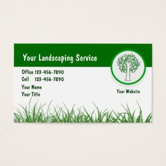 Landschaftsgeschäft Cards_5 Visitenkarte