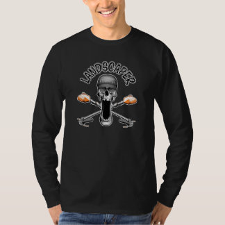 Landschaftsgestalter-Schädel T-Shirt