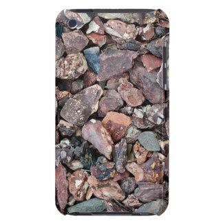 Landschaftsgestaltung des Lava-Felsen-Schutts und iPod Touch Hülle