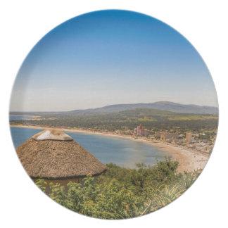 Landschaftsluftaufnahme Piriapolis Uruguay Teller