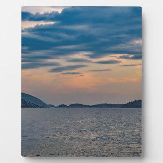 Landschaftsszene von Ipanema Strand Rio de Janeiro Fotoplatte