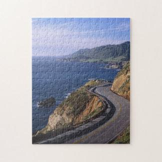 Landstraße 1 entlang der Kalifornien-Küste nahe Jigsaw Puzzle