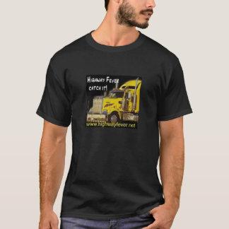 Landstraßen-Fieber-LKW-T - Shirt