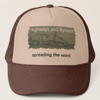 Landstraßen und Seitenwege - Truckerkappe