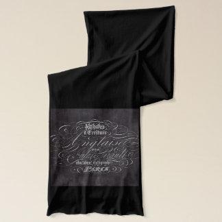 Landtafel Franzose-Skripte Paris rustikale Schal
