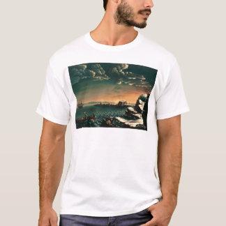 Landung der Pilger durch Michele Felice Corne T-Shirt