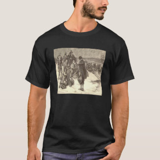 Landung des Pilger-T - Shirt