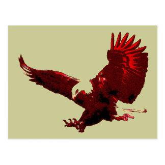 Landung Eagle - Postkarten Eagles im Flug