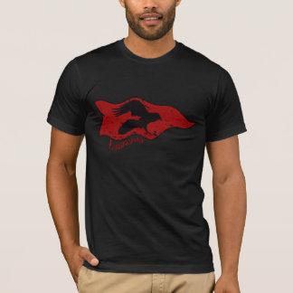 Landwaster Raben-Fahnen-T - Shirt