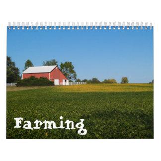 Landwirtschaft des Kalenders Wandkalender