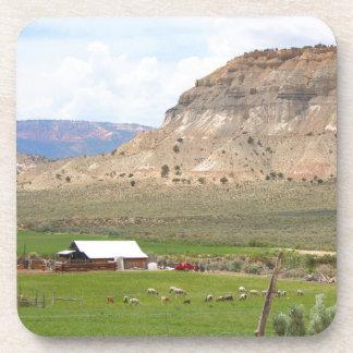 Landwirtschaft des Landes und der Hügel, Südutah Getränkeuntersetzer