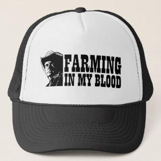 Landwirtschaft in meinem Blut, im Geschenk für Truckerkappe