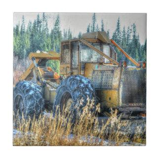 Landwirtschaftliche Maschinen, Traktor, Fliese