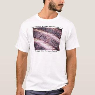 Landwirtschaftliche Terrassen, Pisac Zitadelle, T-Shirt