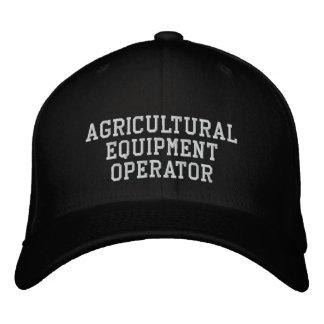 Landwirtschaftlicher Ausrüstungs-Betreiber Bestickte Baseballkappe