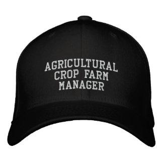 Landwirtschaftlicher Ernte-Bauernhof-Manager Bestickte Baseballkappe