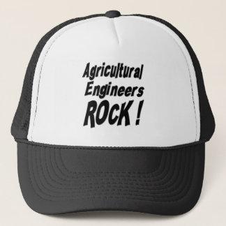 Landwirtschaftlicher Ingenieur-Felsen! Hut Truckerkappe