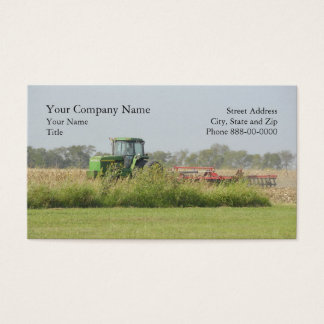 Landwirtschafts-Visitenkarte Visitenkarte