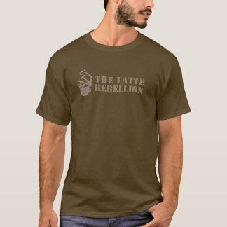 Lang-Sleeved Latte Aufstands-Shirt - Männer T-Shirt
