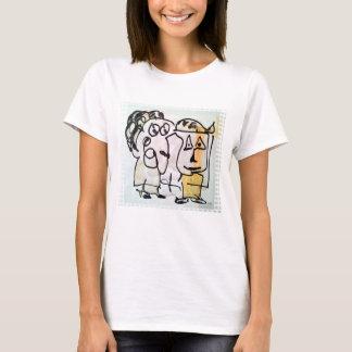lang zusammen T-Shirt