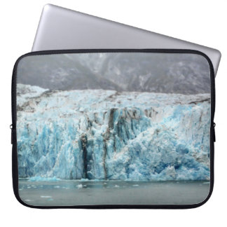 Lange blaue Gletscher-Laptop-Hülse Laptopschutzhülle