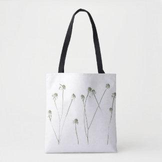 Lange Blumen-Stämme mit Samen-Hülsen Tasche