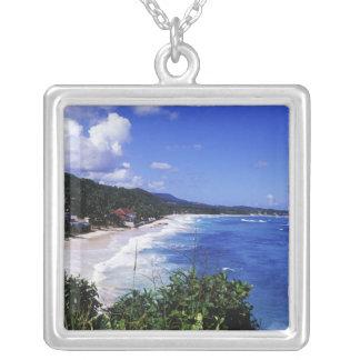 Lange Bucht, Hafen Antonio, Jamaika Versilberte Kette