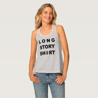 Lange Geschichte kurz/Shirt Tanktop