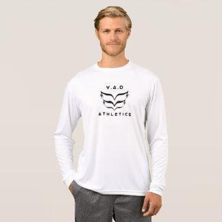 Lange Hülse des 2018 V.A.D Leichtathletik-Logos T-Shirt