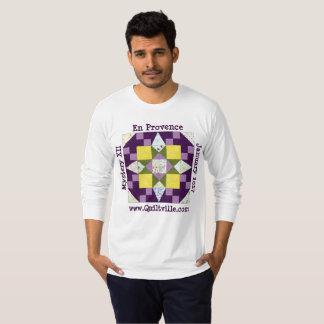 Lange Hülse en Provence T-Shirt