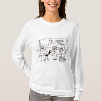 LANGE HÜLSE NEBENWIRKUNGS-FRAUEN-' S T-Shirt