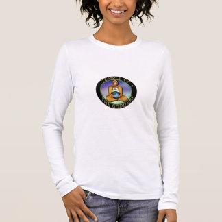 Lange Hülse T mit Logo Langarm T-Shirt