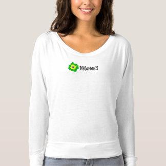 Lange Hülsen-Spitze Manaus Brasilien T-shirt