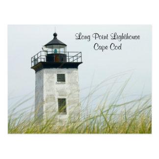Lange Punkt-Licht Provincetown Cape Cod Postkarte