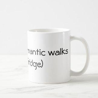 Lange romantische Wege - lustig Kaffeetasse