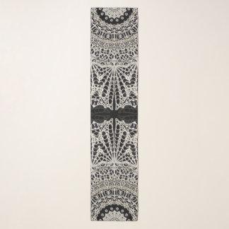 Lange Schal-Mandala Mehndi Art G384 Schal