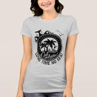 Lange Zeit kein Meer oder Gewohnheits-Mitteilung T-Shirt