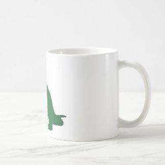 Langer Hals-Dinosaurier Kaffeetasse
