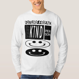 langer Hülsen-T - Shirt des zukünftigen Freunds