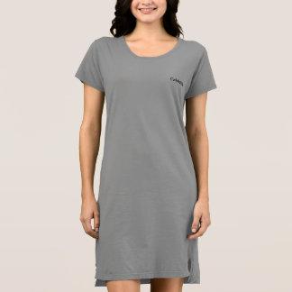 Langer T - Shirt groß, mit Gamaschen zu tragen