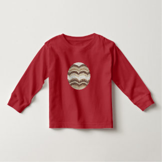 Langer T - Shirt Hülse des Kleinkindes mit beige