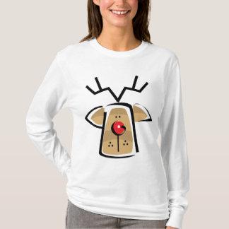 Langes der Weihnachtsfrauen Sleeved T-Shirt
