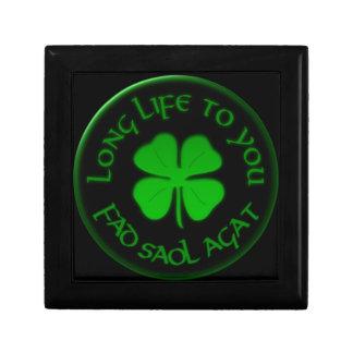 Langes Leben zu Ihnen irisches Sprichwort Geschenkbox